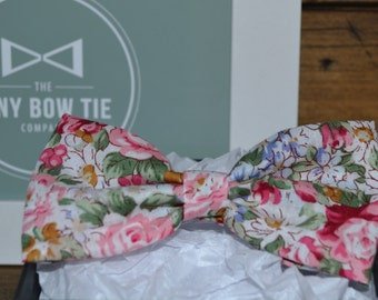 Bow Tie for Kids - Vibrant Floral