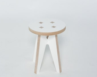 Kids stool, small stool, plant stand, children's stool, child's stool, WSWL