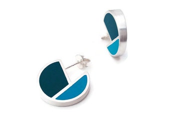 Small colorful earring