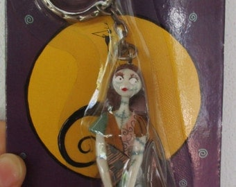 Tim Burton's The Nightmare Before Christmas Sally Jack Skellington 1993 Japanese Keychain