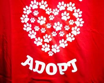 Have a Heart...Adopt - Medium