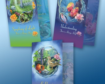 Magic Garden Greeting Card 3-pack