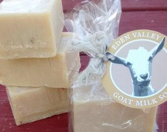 All Natural Honey Oatmeal Goat Milk Soap 2 oz.
