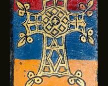 Engraving cross Armenian Armenia 4