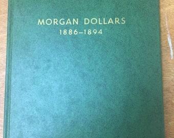 Vintage Green Whitman Coin Collecting Album Folder for Morgan Silver Dollars #9212
