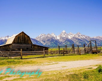 Old Barn in Tetons