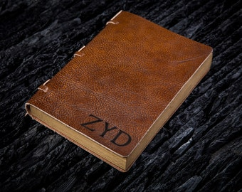 Personalized Journal Leather personalized journal mens leather journal personalize leather journal cover leather journal handmade paper