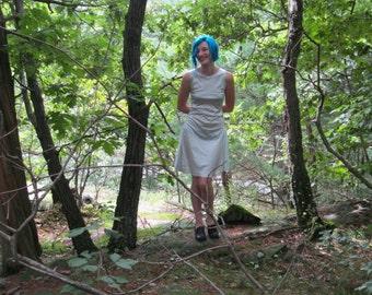 Palest Green Stretch Sheath Dress