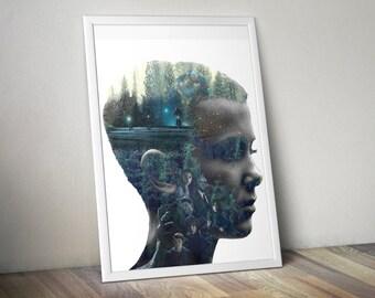 Stranger Things Poster Art Print