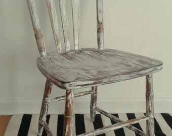 White Chippy Chair