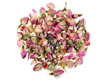 Pink Rose Buds Dried Loose Herbal Tea