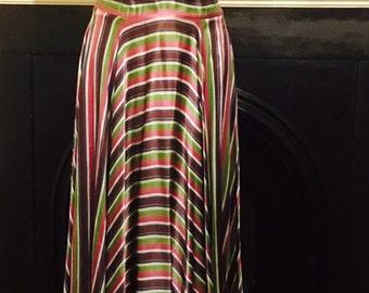 Stunning New York vintage colourful dress
