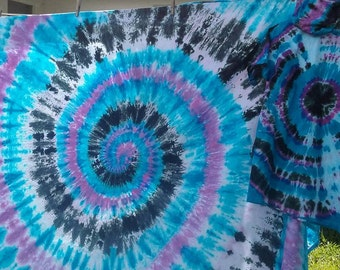 Holiday Special! Tye Dye Tapestry with Matching Shirt