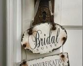BRIDAL SUITE Sign for Wedding Day | Wedding Sign | Do Not Disturb Sign | Door Sign | Door Hanger | Wedding Suite | Bridal Suite | Ornament