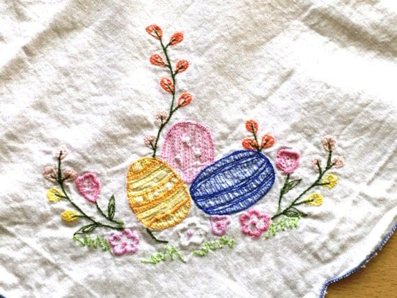 Easter Egg Tablecloth