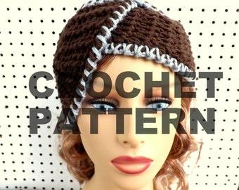 Crochet Patterns for Womens Hat,  Crochet Pattern Hat,  Womens Hat,  1920s Cloche Hat Pattern,  Borromean Crochet Pattern,  Formal Hat