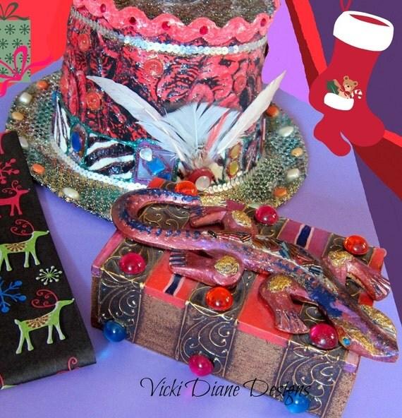 Greg the Gecko Jewelry Box