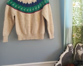 Vintage Ducky Sweater S M