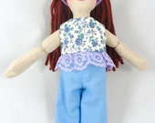 Dress Up Doll for Kids - Redhead Girl Doll - Toy Doll