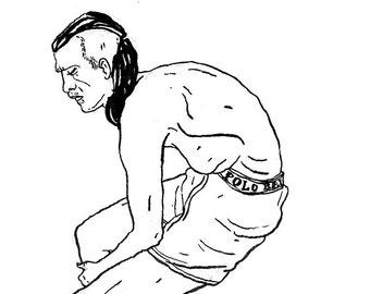 Original Drawing - Male 06
