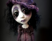 Loopy Southern Gothic Art Doll Victorian Dark Goth Witch Sally