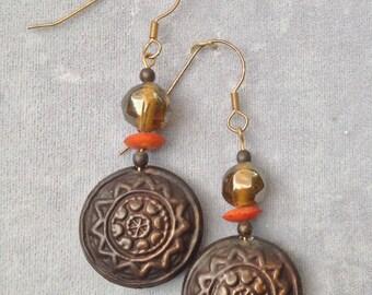 Tribal Knowledge earrings