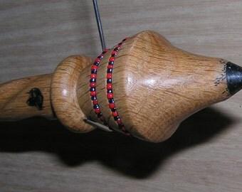 "Viking Santa Russian Lace Spindle .11"" (EDS0855)"