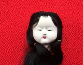 Japanese Doll Head - Vintage Doll Head -  Hina Matsuri Japanese Doll Festival Girl's Head D12-8