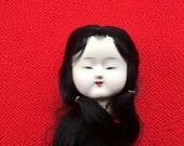 Japanese Doll Head - Vintage Doll Head -  Hina Matsuri Japanese Doll Festival Girl's Head D12-8