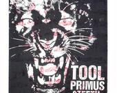 TOOL Primus Nashville Screen Print Concert Poster by Print Mafia