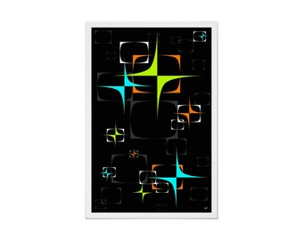 Transceiver Art Print Modern Abstract by Tonya Newton in Various Sizes & Papers