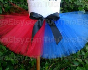 "Less Full Economy Tutu Skirt for Girls, Babies, Toddlers - Design Your Own Colors - 8"" Sewn Tutu - Custom SEWN Tutu - sizes Newborn up to 5T"