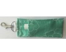 Miss Priss Chapstick/Lipstick Holder Keychain Sewing Pattern & Step-by-Step Tutorial