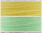 RESERVED Stranded Our First Baby cotton gradient / solid bundle using 3-ply Gradient tied cotton