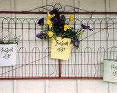 Tres Bon - French Flea Market Style - Bon Jour Spring - Original Colour Film Matted Photograph by Suzanne MacCrone Rogers