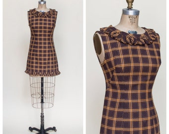 1960s Mod Dress --- Vintage Mini Dress
