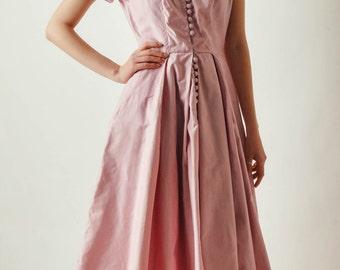 Vintage Suzy Perette Pink Dress