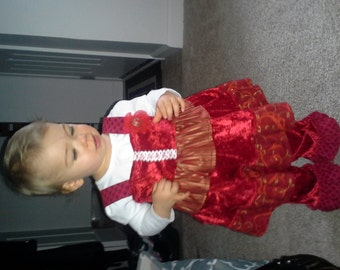 Christmas Baby  Tunic and Bloomers