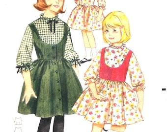 UNCUT Girls Party Dress or Jumper or Vest Size 10 Butterick 3272