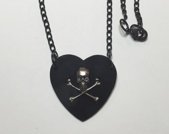 Poison Heart Necklace