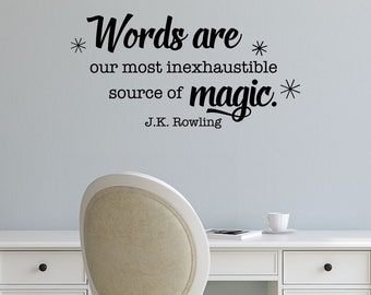 Image result for JK rowling quote writing magic
