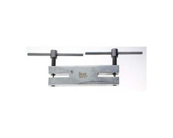 Double Metal Hole Punch Tool, 1.5mm & 2mm Hole Punch 55176 , Metal Punch, Leather Hole Punch, Plastic Punch, Paper Punch, Rivet Punch