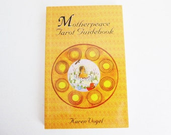 Motherpeace Round, Tarot Deck Guidebook, by Karen Vogel devination reading the Round Cards Goddess Spirituality earth based culture 1995