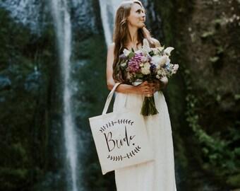 Bridal Bag Wedding Day Bag Bride Bridal Shower Gift Bag