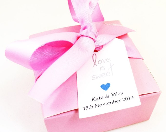 SOAP FAVORS - shower favors, wedding favors, vegan favors, pink favors, party favors, gifts