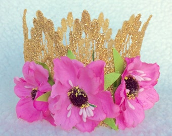 Wildflower Crown - Newborn - Baby - First Birthday - Photo Prop