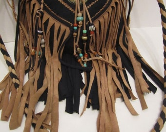 Wild West Fringe Cross Body Bag