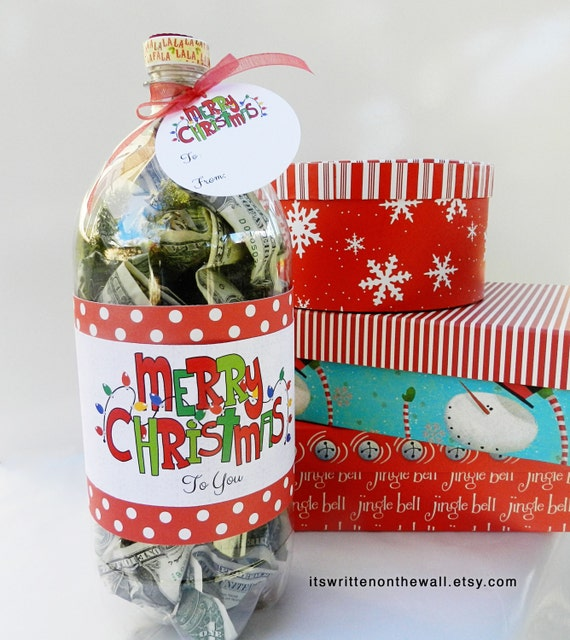 Unique Gift Ideas For Christmas: Christmas Cash Gift Idea / Christmas Gift Idea / Tutorial