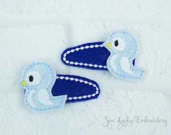 Little Blue Bird Clippy Set