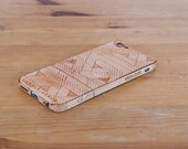 Laser-Etched Wood iPhone Case - Zag Design - Lumber Armor - Fits iPhone 7, 7+, 6, 6S, SE, 6+ / 6S+, 5S / 5